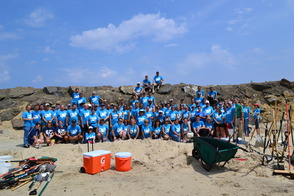 Sobel Interns Exceed Fundraising Goal for Sandy Relief, photo 1