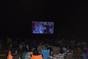Movie Series in the Park Kickoff Draws Crowd of All Ages, photo 4
