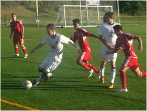 SPF High School Boys' Soccer Team Defeats Elizabeth, photo 1