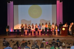 National German Honor Society & Junior Honor Society Induction Ceremony