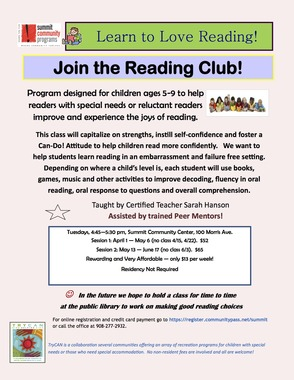 TryCAN Reading Club