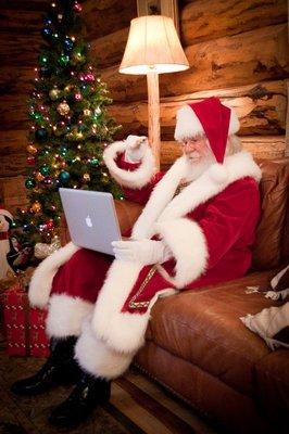 Santa is at the Livingston Mall