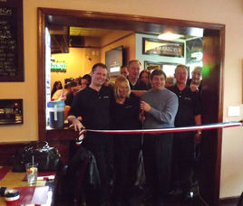 Oak Barrel Ribbon Cutting