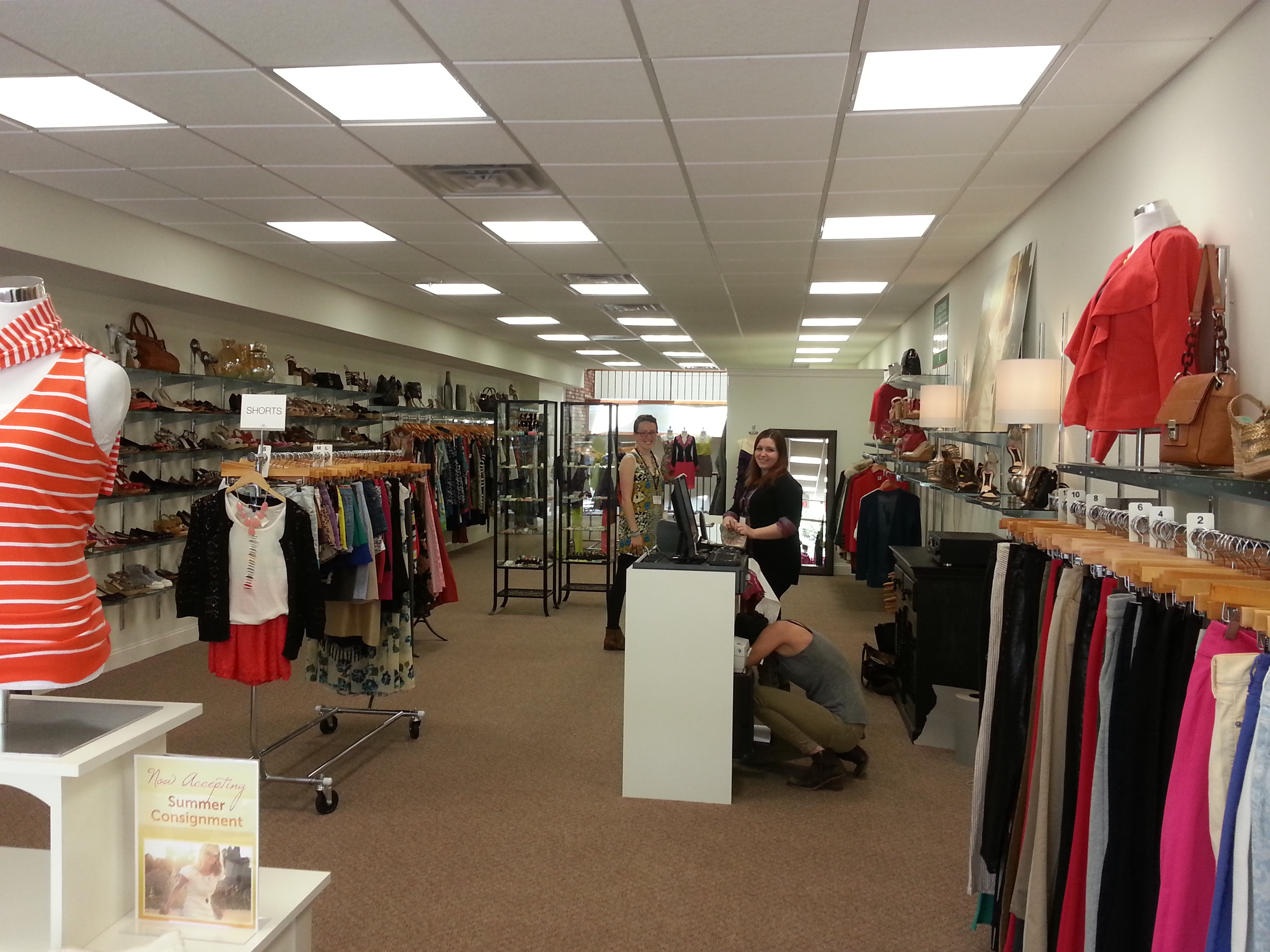 It s the first time around for second time around grand for Opening a storefront business