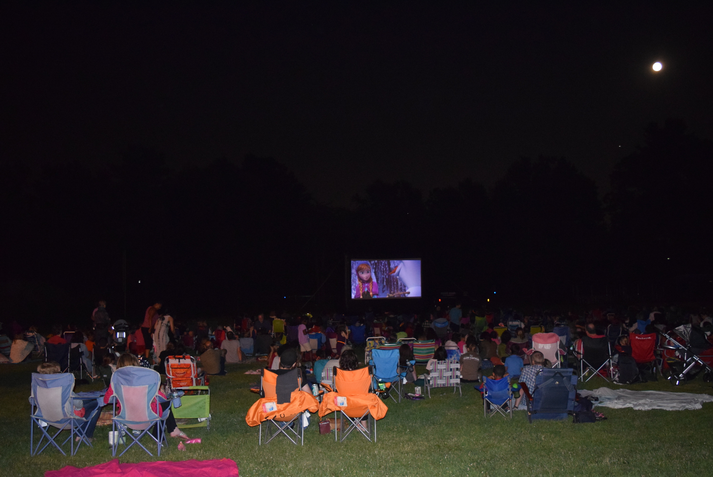 Movie Series In The Park Kickoff Draws Crowd Of All Ages