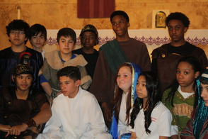 Holy Savior Academy Presented the Living Stations of the Cross, photo 1