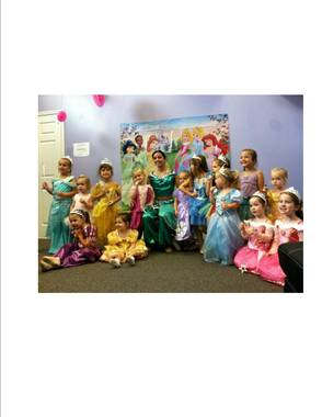 Princess Day Camp