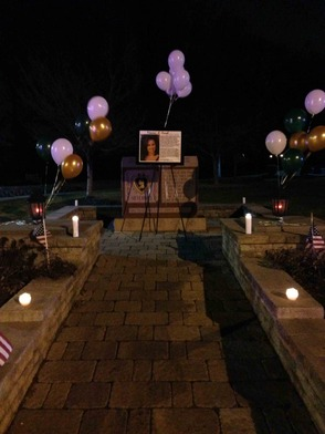 "Community Holds Candlelight Vigil to Remember New Providence's Victoria A. ""Tori"" Crisafi, photo 2"