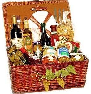 Garden of Eden gourmet gift basket