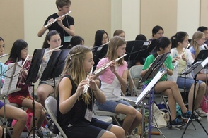 Flute Students of Orchestral Camp