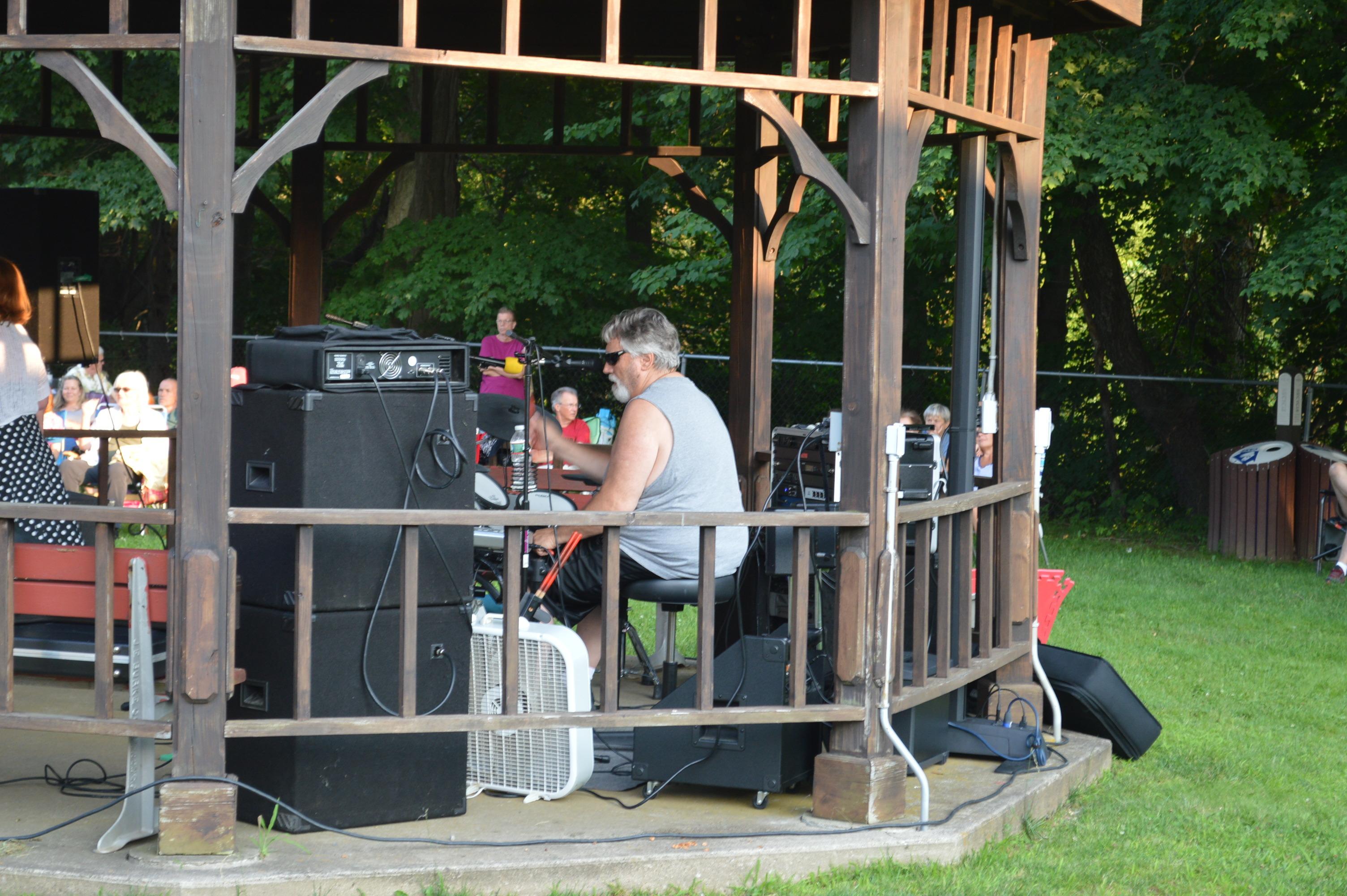 no surrender rocks summer concert series at randolph library