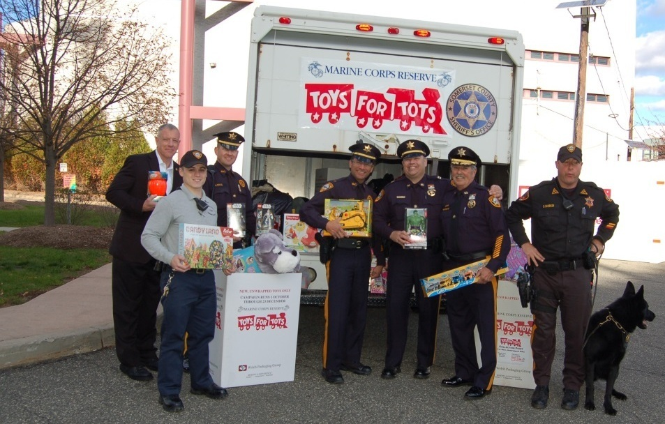 Toys For Tots Articles : Somerset county sheriff s office concludes successful toys