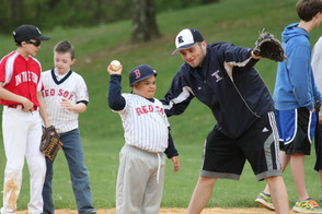 Randolph Youth Volunteers Help Make Challenger Game an Inspirational Experience For All, photo 1