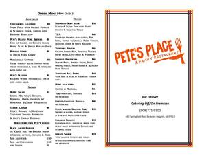 Pete's Place Family Restaurant Summer Destination Now Serving Boardwalk Style Ice Cream, photo 2