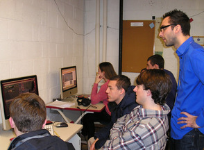 Westfield High School Students Apply Business Principles to TV Ads , photo 1