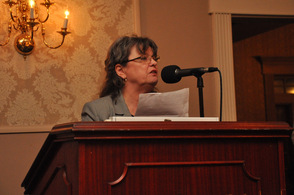 Ailish Hambel, Chairwoman of the Sussex County Republican Committee.