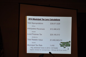 Westfield Town Council Presents Proposed 2014 Budget, photo 11