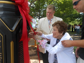 Peppertown Park Clock Connects Generations At Dedication Ceremony, photo 2