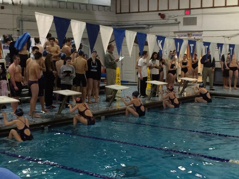 Sparta High School Swim Team Splits Against Unlv Newton
