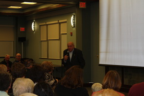 Harry Ettlinger Speaks at an Event in His honor