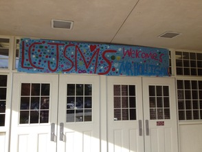 LCJSMS Door Sign