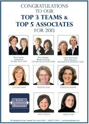 Lois Schneider Realtor announces its top Sales Associates, photo 1