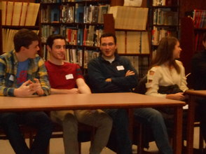 Gov. Livingston Alumni Return For 'College Student Forum', photo 4