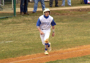 Matt Storcks was a one-man wrecking crew for Westfield as his 7 RBI led to a 9-6 win over Scotch Plains-Fanwood.