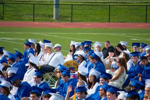 Graduates Sitting