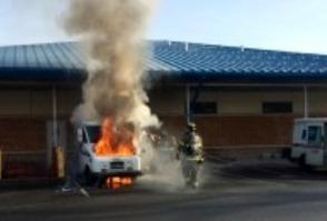 Warren Post Office Fire