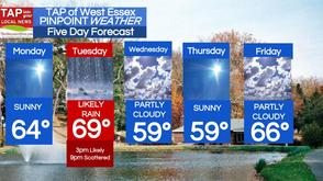 West Essex Area Weather for Monday, April 21, photo 1