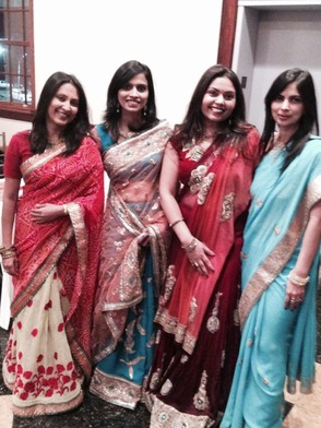 Millburn/Short Hills Moms celebrating Diwali