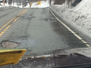 Potholes Create Winter Woes for LP, photo 2
