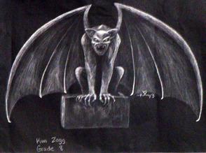 Gargoyle by Kim Zogg