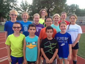 Flyers athletes who will be competing in the USATF and AAU national championships