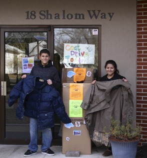 Congregation Beth Israel Completes Coat Drive for Needy, photo 1