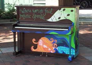 Mysterious Pianos Popping Up Around South Orange, photo 1