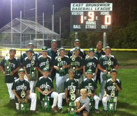 11U South Plainfield Dynamite Win the 2014 East Brunswick Slugfest Baseball Tournament, photo 1