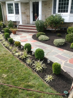 Ince Landscape Construction & Management's landscape project.