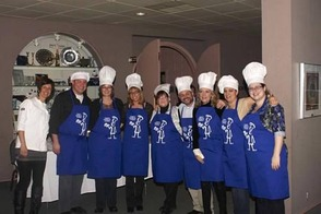 Senior Staff ready to cook