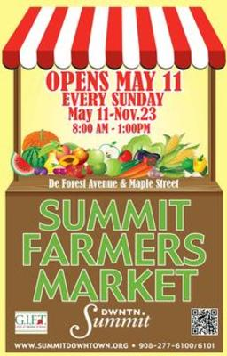 Summit Farmers Market Poster