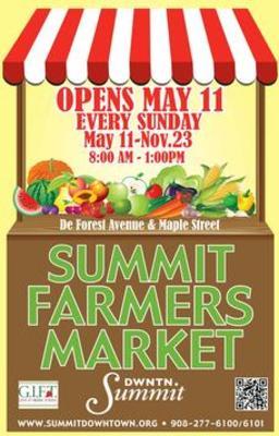 Summit Farmers Market Poster