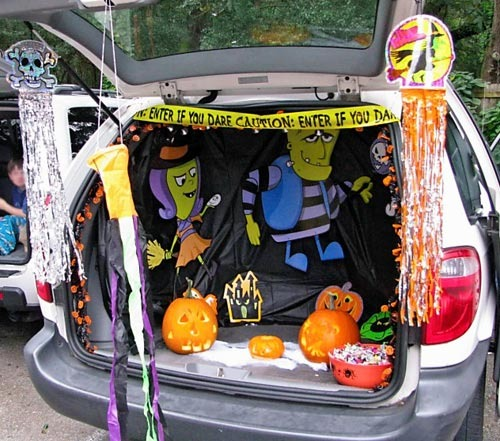 Trunk Halloween Decorating Ideas: Sparta Township Trunk Or Treat Halloween Event