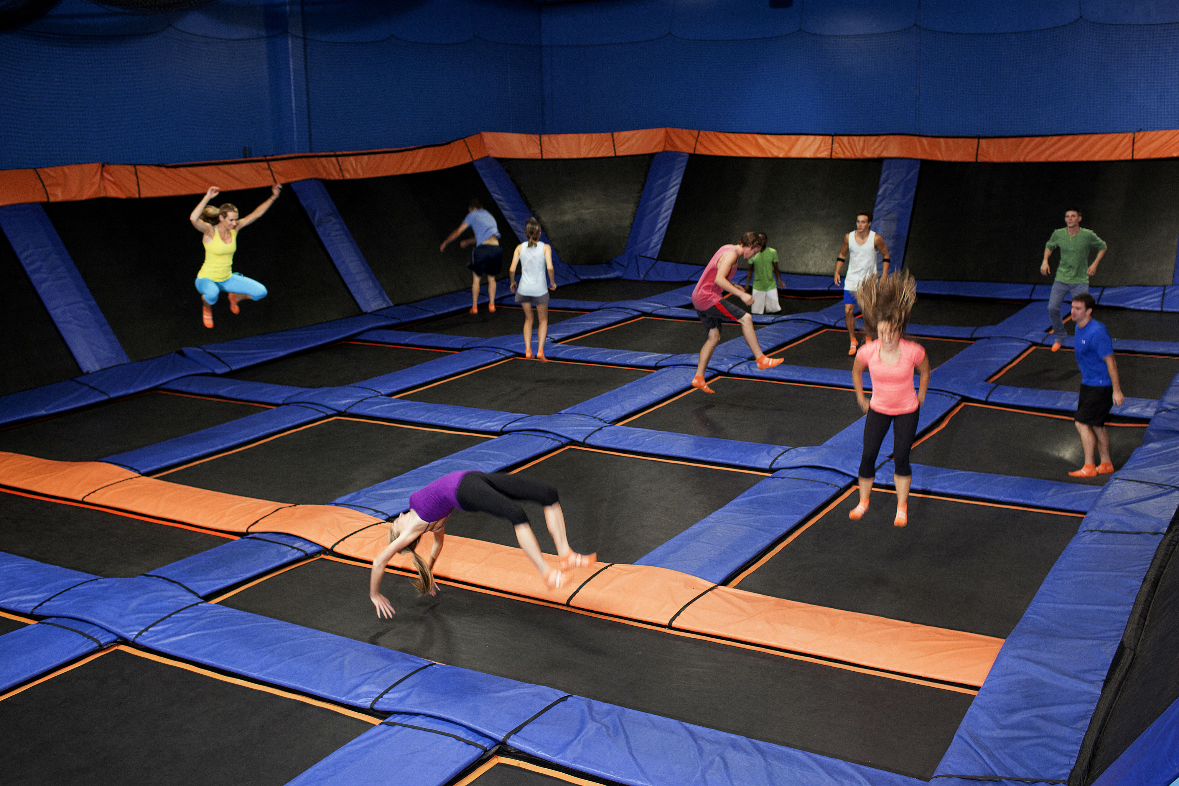Sky Zone Indoor Trampoline Park Grand Opening On June 28