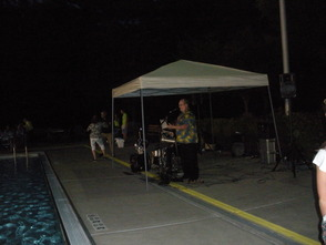Senior Pool Party