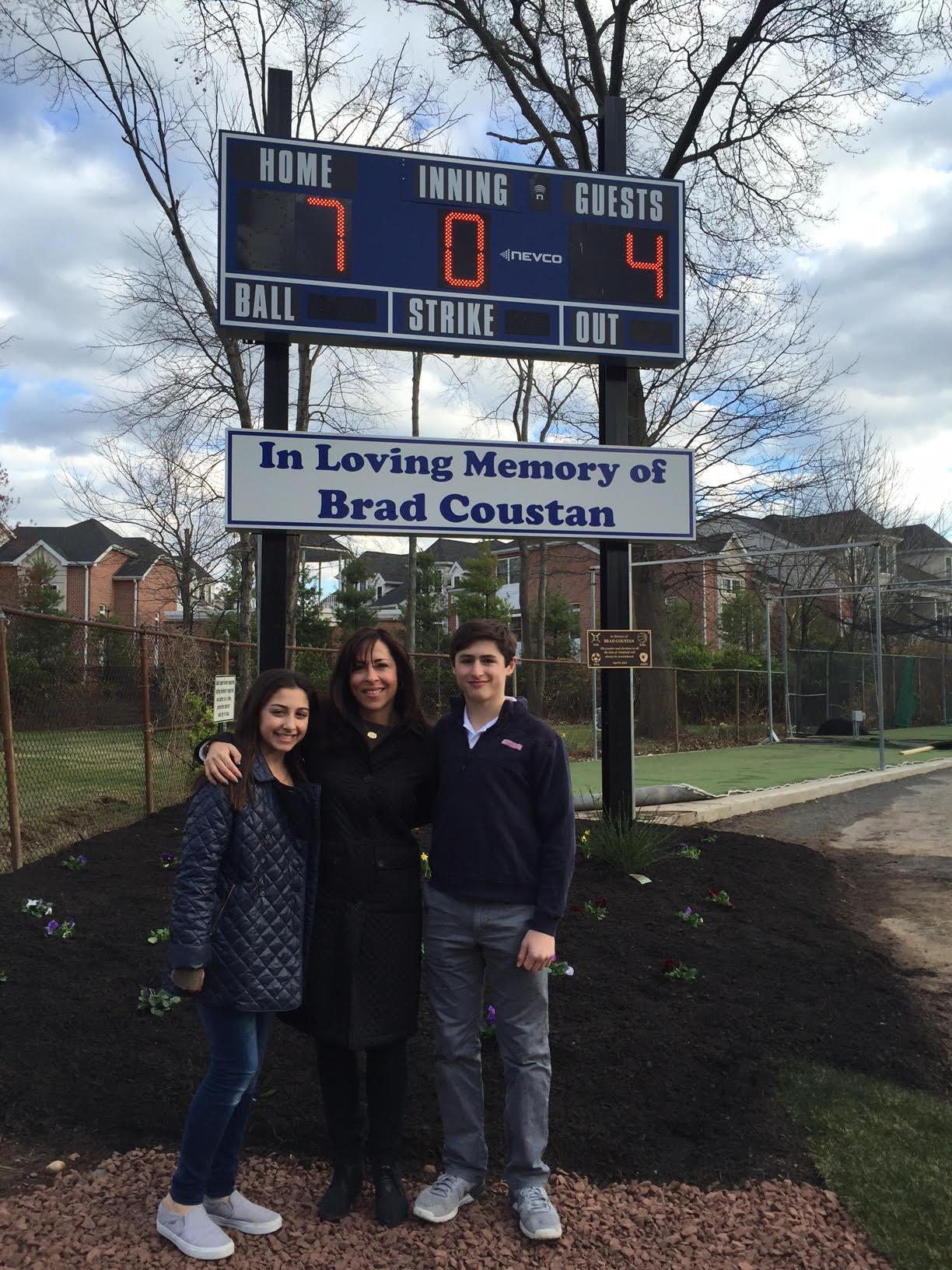 Westfield Baseball Dedicates Gumbert Field Scoreboard to Memory of Brad Coustan