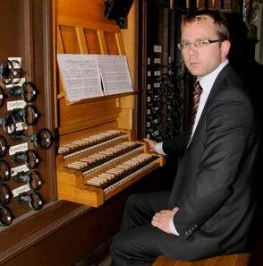 Gedymin Grubba, organist