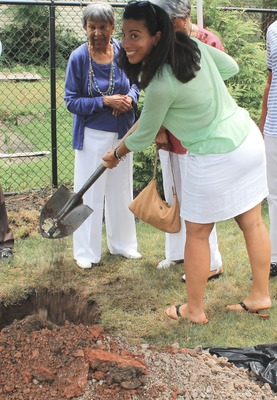 Roselle Community Joins Dr. Polk Family and Plants Time Capsule, photo 25