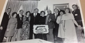 Original photo from Franklin Branch opening celebration in 1976.