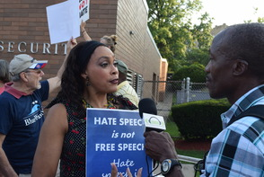 Ted Nugent Concert in Montclair Brings out Protesters and Defenders, photo 3
